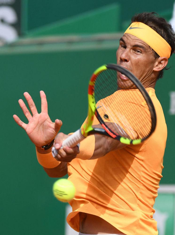 Испаниялык теннисчи Рафаэль Надаль 2018-жылы Монте-Карлодо (Монако) өткөн ATP Masters Series мелдешинде