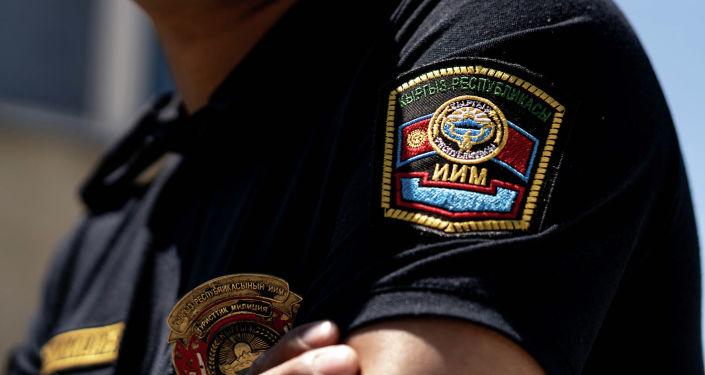 Эмблема туристической милиции Иссык-Кульской области