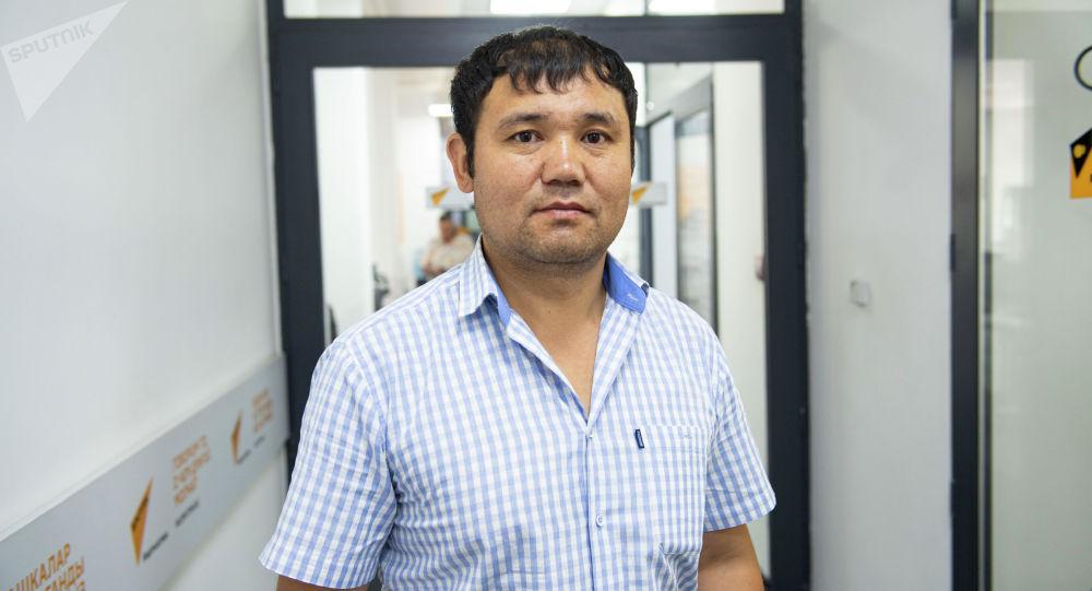 Заведующий отделом Департамента химизации и защиты растений Министерства сельского, водного хозяйства и развития регионов КР Алмаз Алакунов