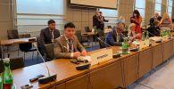 Тазабек Икрамов ЕККУ парламенттер аралык ассамблеясынын Венада жайкы отурумуна катышууда