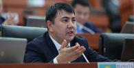 Жогорку Кеңештин депутаты Марлен Маматалиев. Архивдик сүрөт