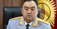Ички иштер министри Уланбек Ниязбеков . Архив