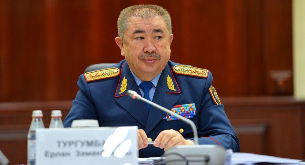 Министр внутренних дел Республики Казахстан Ерлан Тургумбаев. Архивное фото