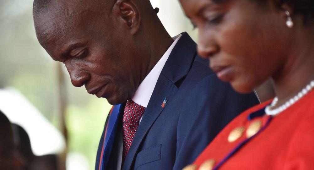 Гаитинин президенти Жовенель Моиз. Архивдик сүрөт
