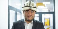 Верховный муфтий Кыргызстана Замир Ракиев во время беседы на радио Sputnik