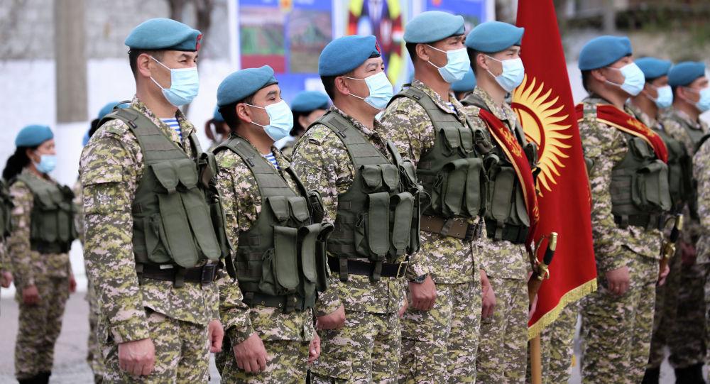 Солдаты кыргызского спецназа во время учений. Архивное фото