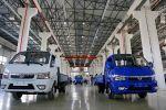 Запуск линии производства малотоннажных грузовиков в Оше