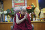 Тибеттин руханий лидери Далай-лама. Архив