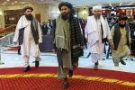 Москвадагы эл аралык тынчтык конференциясында Талибандын өкүлдөрү. Архив