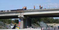 Строительство транспортной развязки трассы