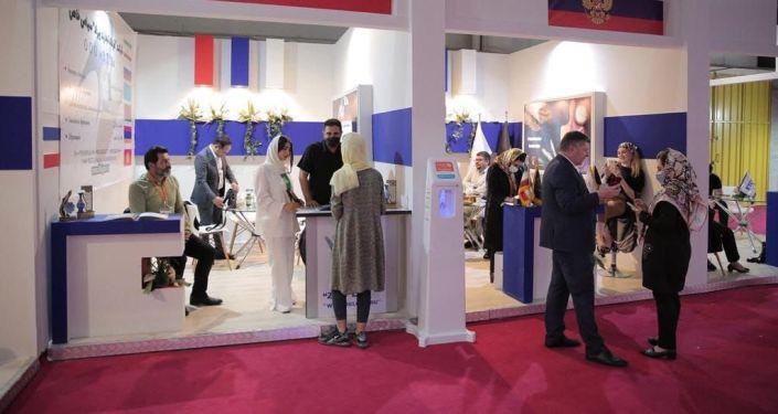 В Тегеране открылась первая специализированная выставка Евразия с участием стран ЕАЭС