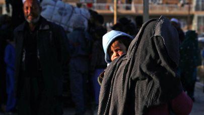 Афганские беженцы. Архивное фото
