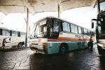 Междугородние автобусы на стоянке автовокзала. Архивное фото