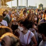 Барселонадагы (Испания) Cruilla  музыкалык фестивалынан бир көрүнүш
