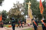 Сегодня, 12 июля, в Бишкеке состоялся марш военнослужащих, посвященный празднованию 80-летия Панфиловской дивизии.