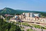 Общий вид на кампус Сибирского федерального университета (СФУ) в Красноярске