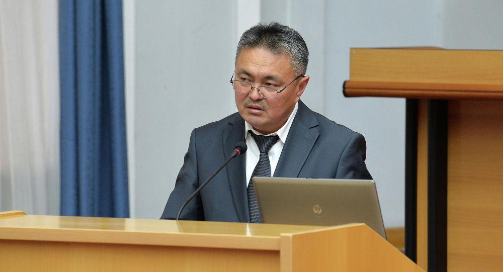 Заместитель председателя Государственной таможенной службы Кыялбек Мукашев. Архивное фото