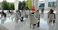 Токио Олимпиадасына Кыргызстандан барчу спортчулар. Архив