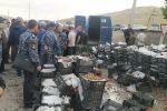 На кыргызско-таджикском участке границы в местности Ак-Татыр Баткенского района представители добровольной народной дружины задержали два автомобиля с контрабандным виноградом