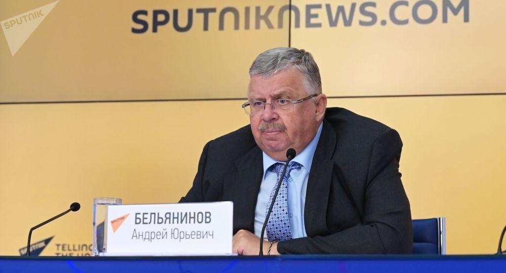 Евразия элдеринин ассамблеясынын башкы катчысы, РФтин эмгек сиңирген экономисти Андрей Бельянинов