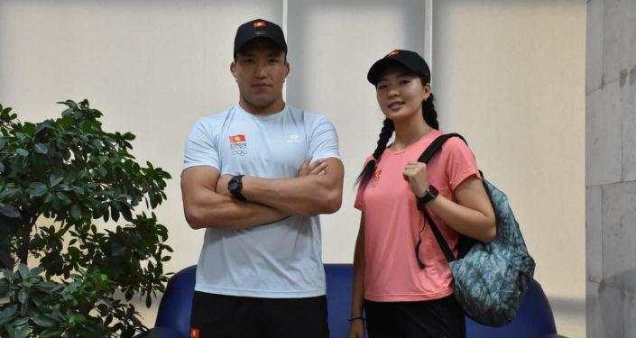 Спортивная форма членов олимпийской сборной Кыргызстана на XXXII летних Олимпийских играх в Токио