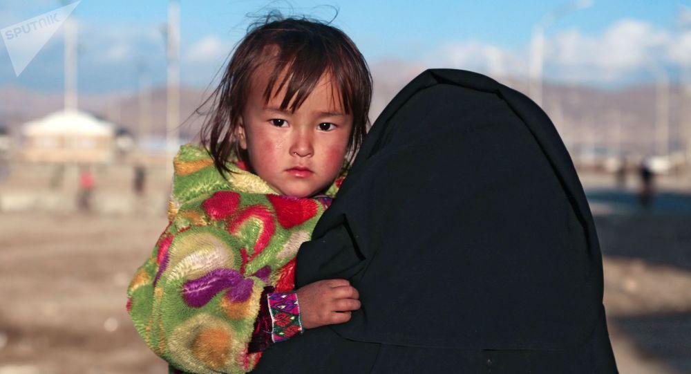 Беженцы из Афганистана. Архивное фото