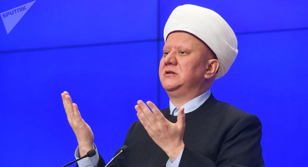 Председатель Духовного собрания мусульман России Альбир Крганов. Архивное фото