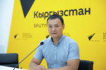 Мектеп лигасы долбоорун уюштуруу тобунун жетекчиси Самат Токтоналиев