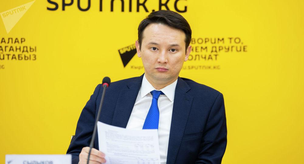 Эл аралык ишкерлер кеңешинин директору Аскар Сыдыков. Архив