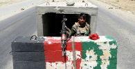 Афганистандын Улуттук армиясынын жоокери. Архивдик сүрөт