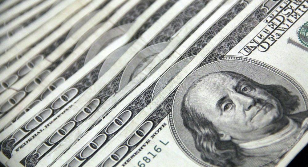 Доллар купюралары.Архивдик сүрөт