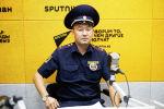 Бишкек милициясынын кайгуул кызматынын 5-ротасынын командири Борборбек Ташматов