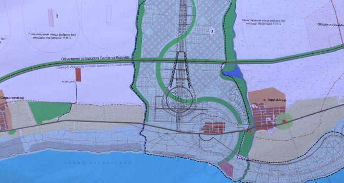 Схема проекта Экологически чистый город Асман