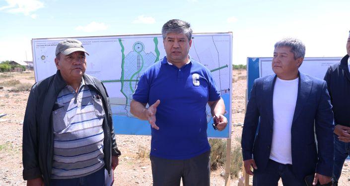 В селе Тору-Айгыр в Иссык-Кульской области состоялось выездное совещание Межведомственной рабочей группы по разработке проектных решений в рамках реализации проекта Экологически чистый город Асман