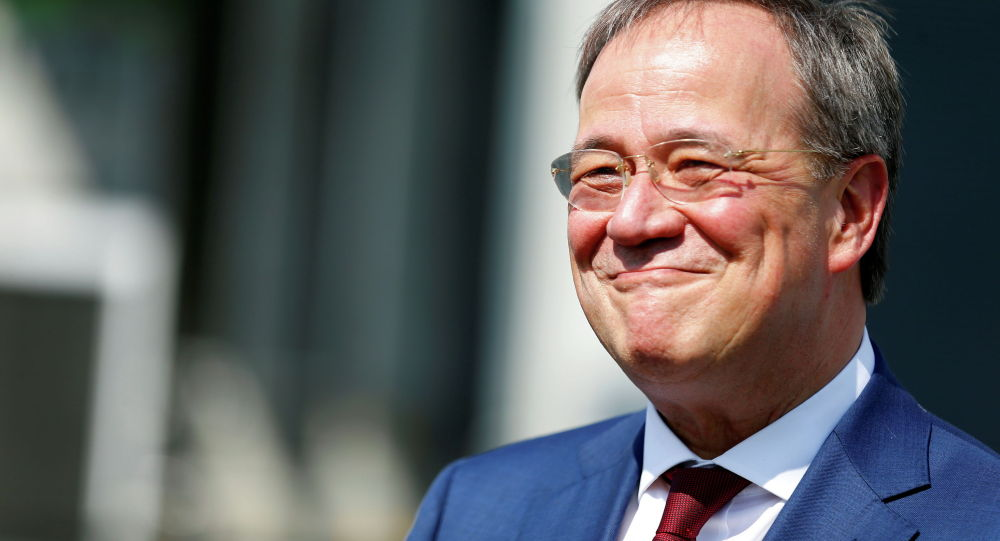 Кандидат в канцлеры Германии от консервативного блока ХДС/ХСС Армин Лашет. Архивное фото