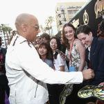 Вин Дизель на глобальной премьере Marvel Studios в Лос-Анджелесе Мстители: война бесконечности в Голливуде. Калифорния, 23 апреля 2018 года.