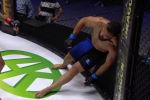 Российский боец ММА Хусейн Кушагов отправил в нокаут соперника Антонио Маркоса, после которого последний замер почти в стоячем нокауте.