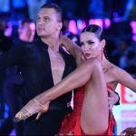 Участники Кубка мира по латиноамериканским танцам среди профессионалов в Государственном Кремлевском Дворце.