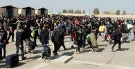 Тысячи афганских беженцев  в западной провинции Герат (Афганистан). Архивное фото