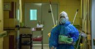 Медициналык кызматкер ооруканада
