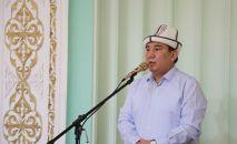Назначенный исполняющим обязанности мэра Бишкека Таалайбек Сарыбашов. Архивное фото