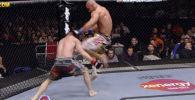 Абсолюттук мушкерлер уюму (UFC) өз тарыхындагы атаандашын тизе менен секирип тээп уткан атлеттердин видеолорун чыгарды.