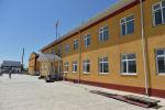 Кыргыз-тажик мамлекеттик чек ара тилкесиндеги окуялардын жүрүшүндө талкаланган Максат айылындагы орто мектеби