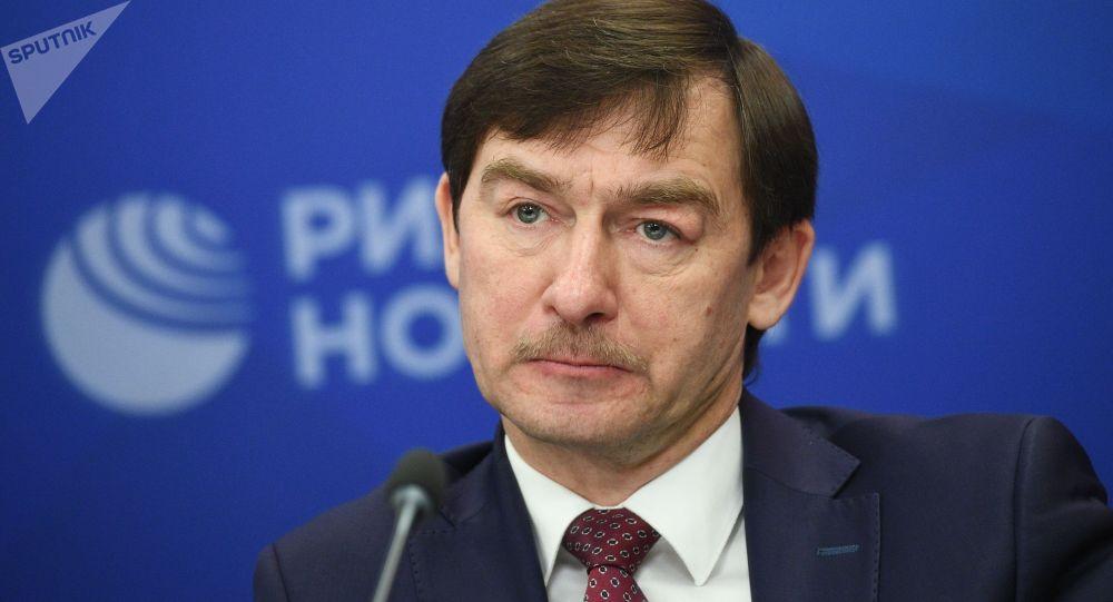 Директор Института русского зарубежья Сергей Пантелеев