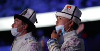 Токиодогу Олимпиада оюндарынын ачылыш аземинде Кыргызстандын делегациясы