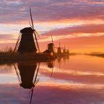 Снимок Голландское утро фотографа из Нидерландов Claire Droppert занял первое место в номинации Рассвет