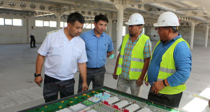 Председатель Государственной таможенной службы Самат Исабеков ознакомился с ходом строительства нового логистического центра Silk Way. 24 июля 2021 года