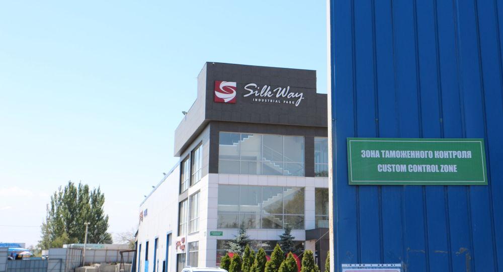 Строительство нового логистического центра Silk Way недалеко от границы с Казахстаном