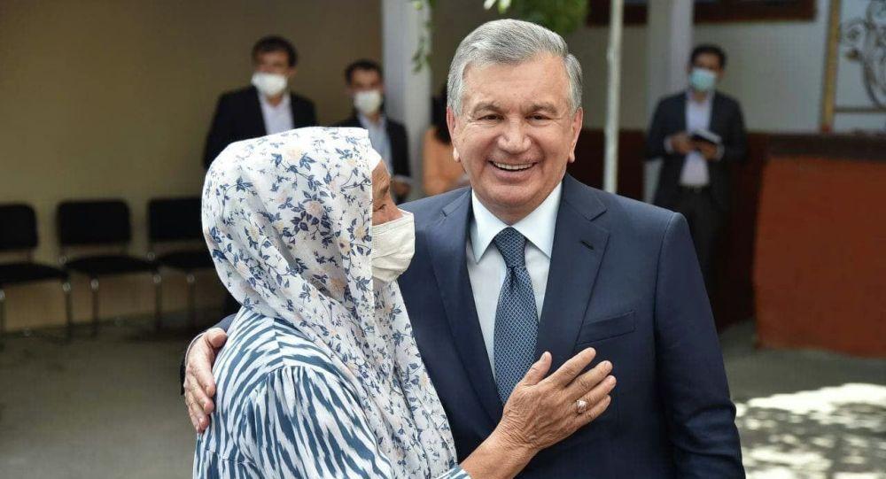 Өзбекстандын президенти Шавкат Мирзиёев. Архивдик сүрөт