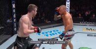 Кечээ Лас-Вегаста UFC on ESPN 27 шоусу өтүп, негизги беттешке уюмдун жеңил салмактагы мурдагы чемпиону Ти Жей Диллашоу менен Кори Сэндхаген чыкты.